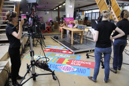 Vrede TV productie in Vechtclub XL