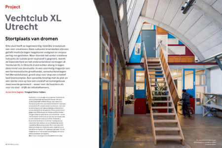 Spread over Vechtclub XL in De Architect